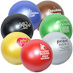 Jewel Round Stress Balls